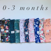 0-3 MONTH LEGGINGS