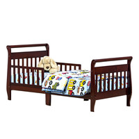 Dream On Me, Sleigh Toddler Bed, Cherry