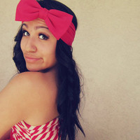 Bow Turban Headband from Love What's Missing