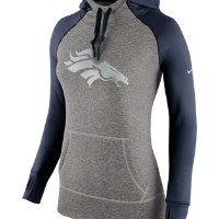 Nike Platinum All Time Pullover (NFL Broncos) Women's Training