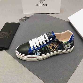 Versace men's 2021 New Fashion Casual Shoes Sneaker Sport Running Shoes 060903