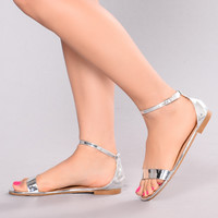Happy Hour Sandal - Silver