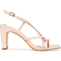 BY FAR - Carrie leather slingback sandals