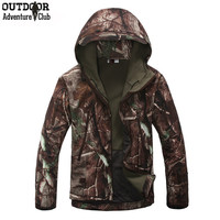 Lurker Shark Skin Military Tactical Jacket Men - Waterproof - Windproof - Camouflage