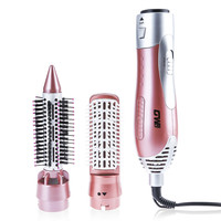 Professional Hair Curler Dryer Comb Curling Drying Function 2 in 1 Comb Multifunctional Styling Salon Tool Sets Hairdryer