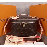 LV Louis Vuitton Women's Leather Shoulder Bag Satchel Tote Bags Crossbody