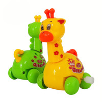 2015 New Arrival Wind Up toy Animal Toddler Kid Giraffe Toys Child Gift Educational Development Low Price VBD71 P