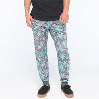 Valor Comp Mens Jogger Pants Blue/Grey  In Sizes