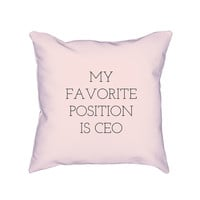 CEO Pillow