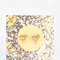 Shark Tooth Stud Earring - Gold One