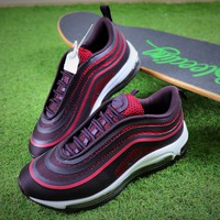 Nike Air Max 97 UL '17 Violet Bullet Sport Running Shoes 917704-600 Sneaker - Best Online Sale