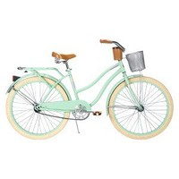 "HUFFY Mint Green Huffy 26"" Ladies Deluxe Cruiser"