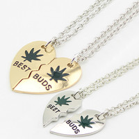 Cool Loving Heart Pendant Chain Unisex Exaggerated Choker Necklace