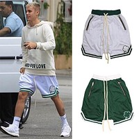 Brand Shorts Men Bodybuilding quick-drying Sports shorts Joggers Knee Length Sweatpants Summer Male Gyms training Running shorts