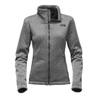 The North Face Apex Chromium Thermal Jacket for Women in TNF Black Herringbone NF0A2TDW-NRY
