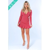 It's A Date Dress: Dusty Rose