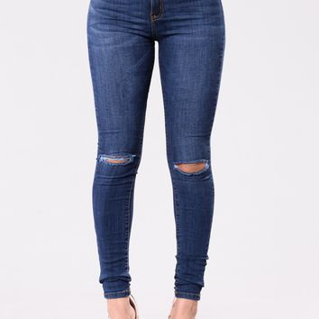 Just Another Day Jeans - Dark Blue