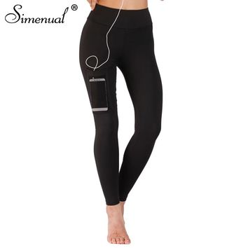 Mesh Pocket Fitness Leggings