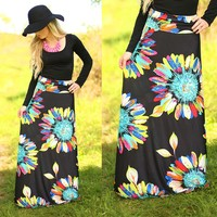 Daisies For Days Maxi Skirt
