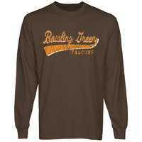 Bowling Green St. Falcons All-American Primary Long Sleeve T-Shirt - Brown