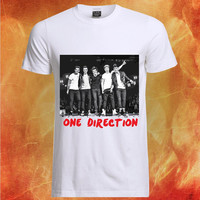 One Direction concert shirt, One Direction tshirt, One Direction clothing, One Direction t shirt, One Direction Tshirt  Mens and womens