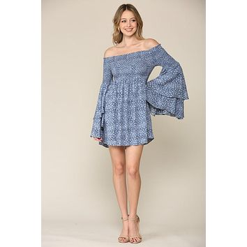Country Nights Dress (Blue)