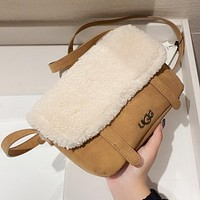 UGG flap bag personality all-match shoulder bag