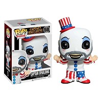 Funko pop Captain Spaulding 58# Action Figure Anime Model Pvc Collection Toys For birthday Gifts|Action & Toy Figures