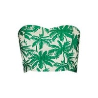 Palm Print Bandeau Top - New In This Week - New In