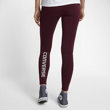 The Converse Core Reflective Wordmark Women's Leggings.