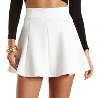 Textured Knit Skater Skirt by Charlotte Russe