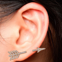 SINGLE ARROW EARRING