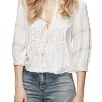 Free People The Wild Life Embroidered Blouse | Nordstrom