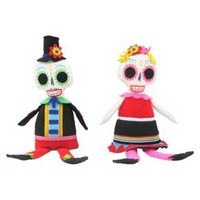 Day Of The Dead His & Hers Sitting Skeletons - Hyde and Eek! Boutique™