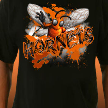 Hornets Splash T-Shirt