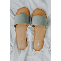 Audrina Sandals - Mint