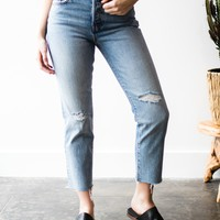 Levis Wedgie Two Tone Straight Fit