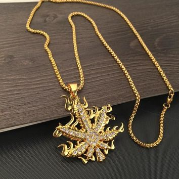 Stylish Shiny New Arrival Jewelry Gift Hot Sale Fashion Accessory Hip-hop Korean Couple Necklace [6542763267]