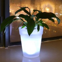 Color Changing LED Lighting Flower Planter
