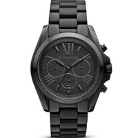 Michael Kors Brushed Stainless Steel Chronograph, 43mm - Jewelry & Accessories - Bloomingdale's