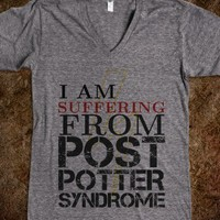 """""""I am suffering from Post Potter Syndrome"""" - When a Fangirl Make T-shirts"""