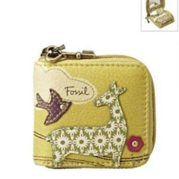 """Product: Fossil- """"Charlotte"""" Contact Lens Case"""