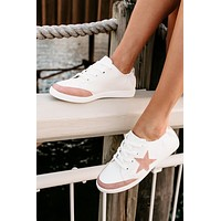 Lies Don't Live Here Sneakers (Blush)