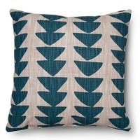 Threshold™ Printed Uneven Triangle Pillow