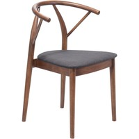 Zuo Modern Espresso Communion 100156 Dining Chair