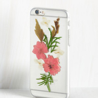 Boho Pressing Information iPhone 6, 6s Case in Pink by ModCloth