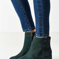 Embroidered Thelma Ankle Boot - Urban Outfitters