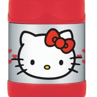 Thermos Funtainer 10 Ounce Food Jar, Hello Kitty - Pink/Blue (Colors and Design may Vary)