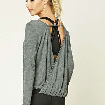 Active Surplice Back Top