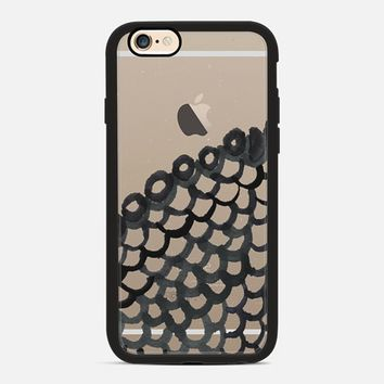 black net iPhone 6 case by Marianna | Casetify
